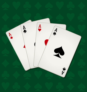 poker players cards